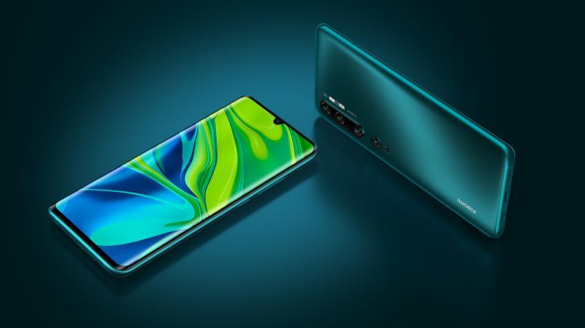 108-мегапиксельные Xiaomi Mi Note 10 и Note 10 Pro с пентакамерой представлены в России