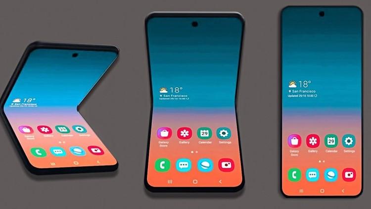 Гибкая «раскладушка» Samsung Galaxy Fold 2 получит внешний дисплей