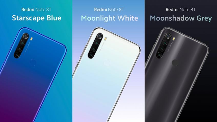 Представлен смартфон Redmi Note 8T - 2