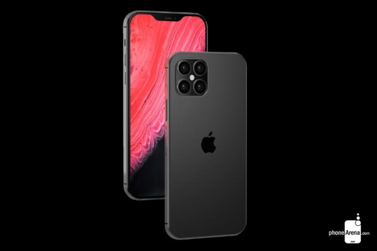 Примерное изображение iPhone 12 - 2
