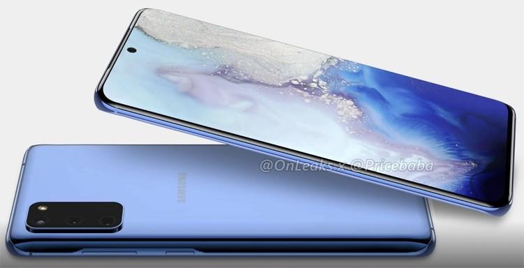 Смартфон Samsung Galaxy S11e позирует на рендерах: загнутый дисплей и тройная камера