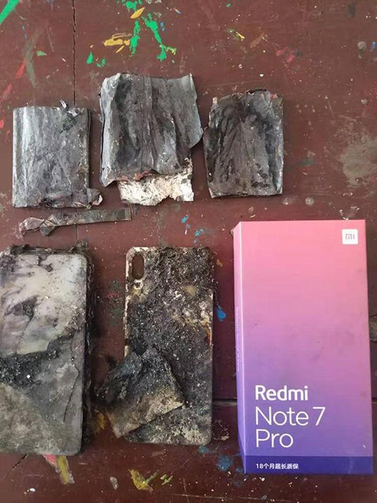 Снова негарантийный случай: смартфон Xiaomi Redmi Note 7 Pro загорелся без видимых причин