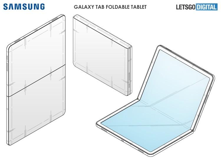 У Samsung может появиться планшет с гибким дисплеем
