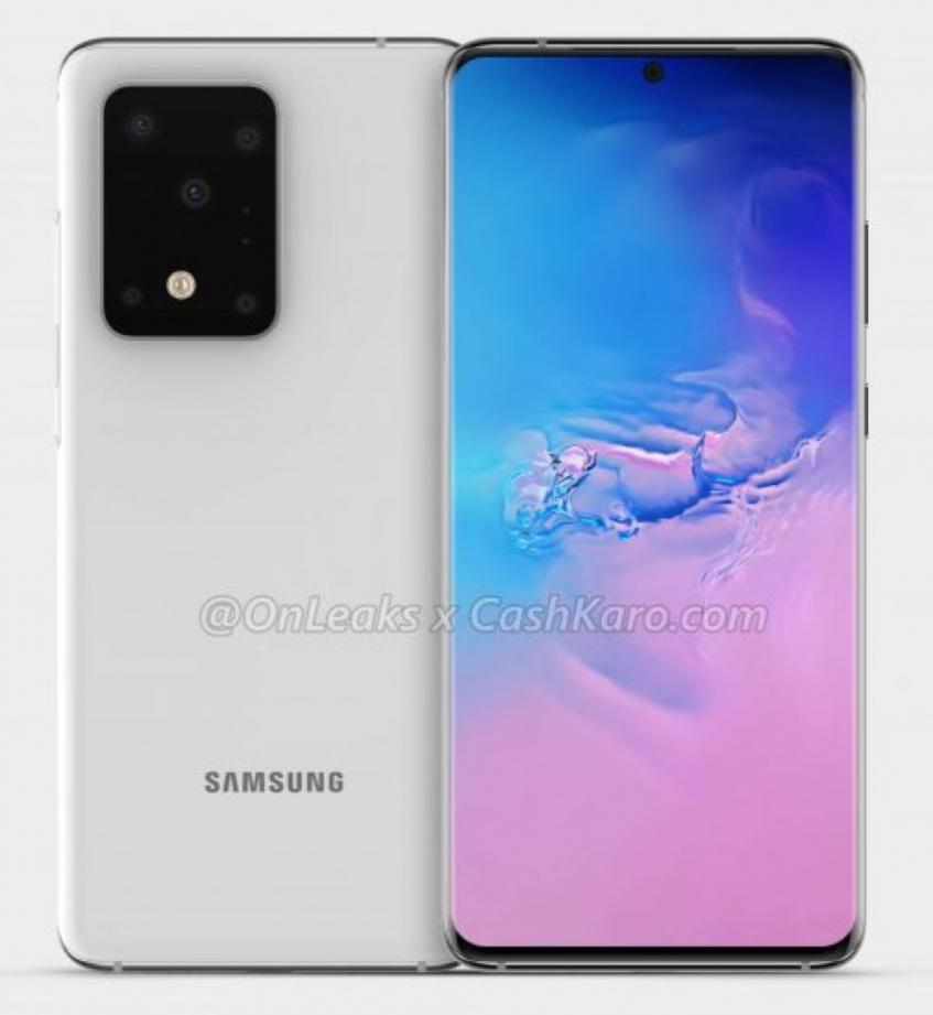 Все в сборе: Samsung Galaxy S11+ с ПЯТЬЮ камерами на рендерах