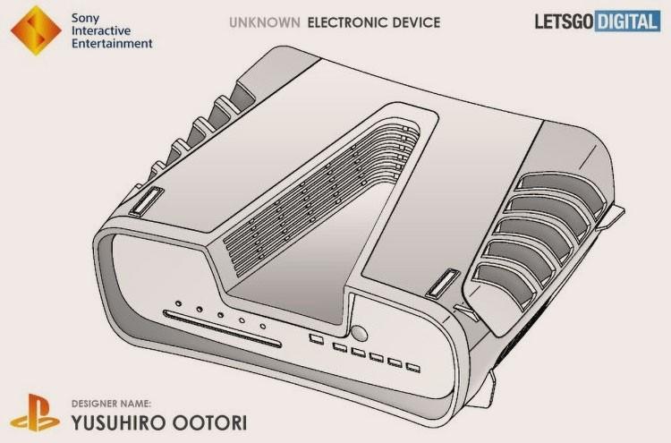 Изображение на основе патента Sony