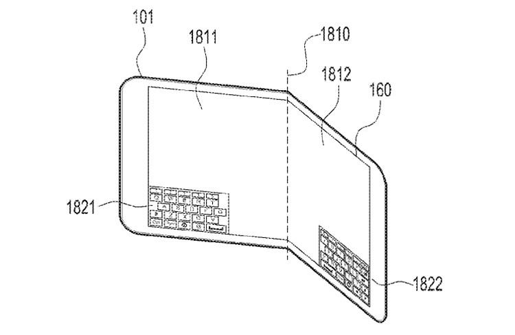 Новый гибкий смартфон Samsung сможет сгибаться в разные стороны - 2