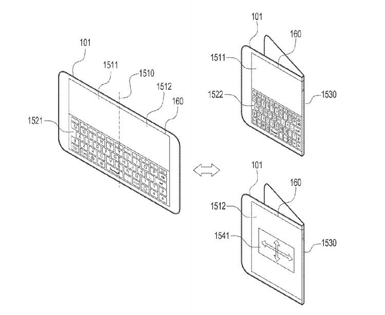Новый гибкий смартфон Samsung сможет сгибаться в разные стороны - 3