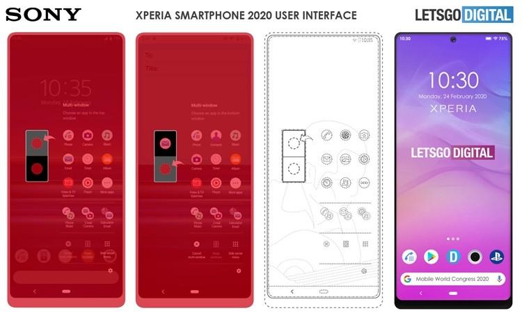 Новый смартфон Sony Xperia получит экран с отверстием для селфи-камеры