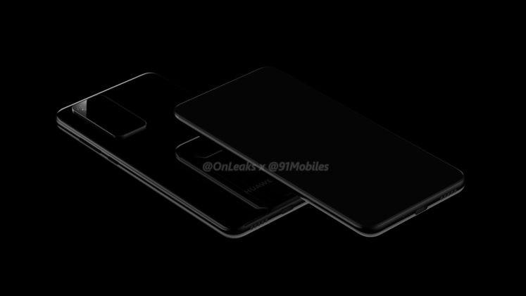 Посмотрите рендеры: на них будущий Huawei P40 Pro