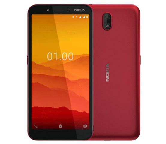 Представлен смартфон начального уровня Nokia C1 - 1