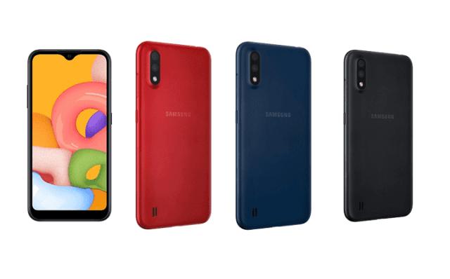 Представлен смартфон начального уровня Samsung Galaxy A01 - 1