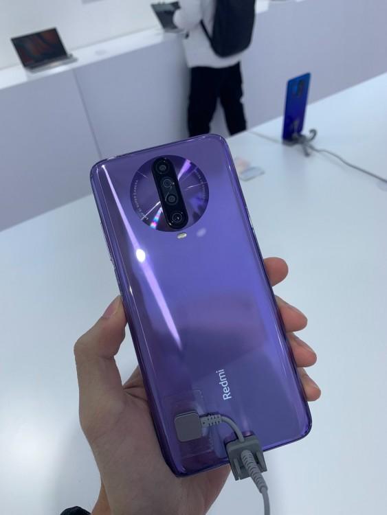 Реальные фотографии вышедшего смартфона Xiaomi Redmi K30 - 1