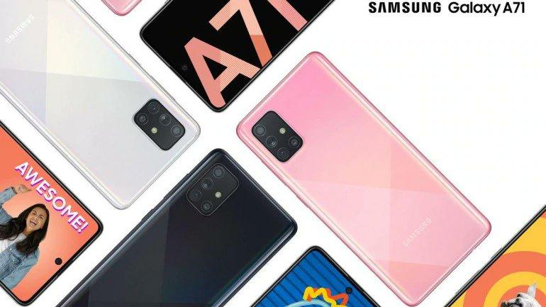 Samsung Galaxy A71 оказался заметно дороже ожидаемого