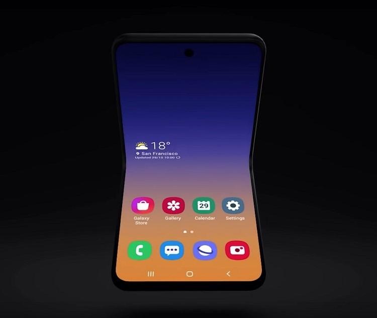 Цена смартфона Samsung Galaxy Fold 2 окажется на уровне 00