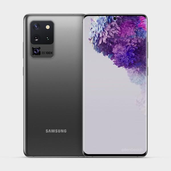 Камера Samsung Galaxy S20 Ultra будет выглядеть иначе, чем предполагалось