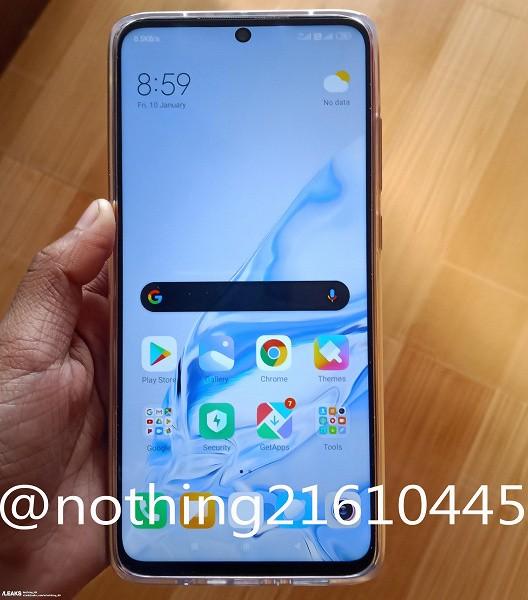 Первое качественное фото Redmi Note 9