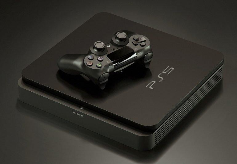 Первый взгляд на настоящую Sony PlayStation 5. Она включается и загружается