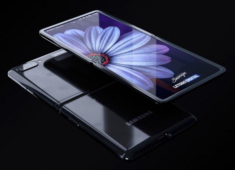 Появилось видео с демонстрацией первой раскладушки Samsung Galaxy Z Flip с гибким дисплеем - 2