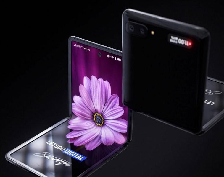 Появилось видео с демонстрацией первой раскладушки Samsung Galaxy Z Flip с гибким дисплеем - 4