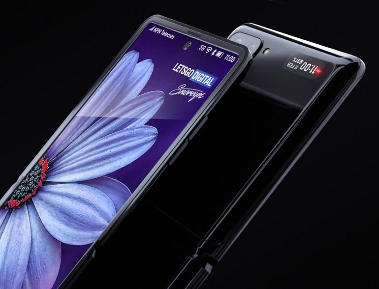 Появилось видео с демонстрацией первой раскладушки Samsung Galaxy Z Flip с гибким дисплеем - 5