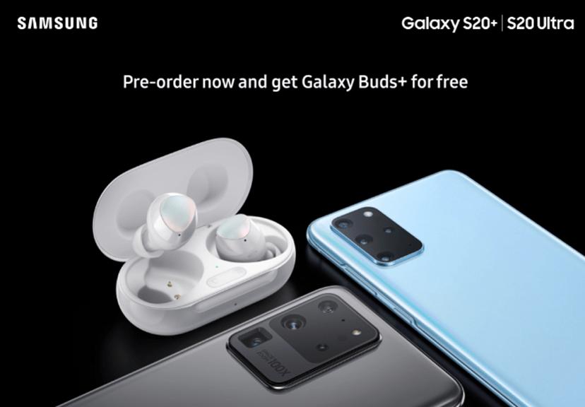 Samsung предложит дорогие наушники Galaxy Buds+ бесплатно