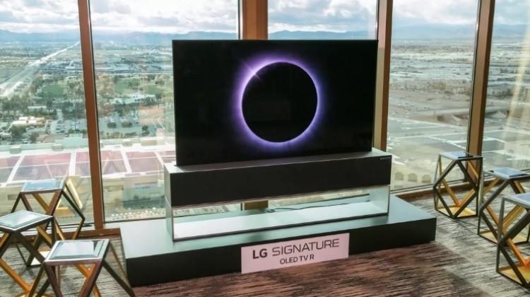 Сворачиваемый телевизор LG Signature OLED TV R обойдётся в 000