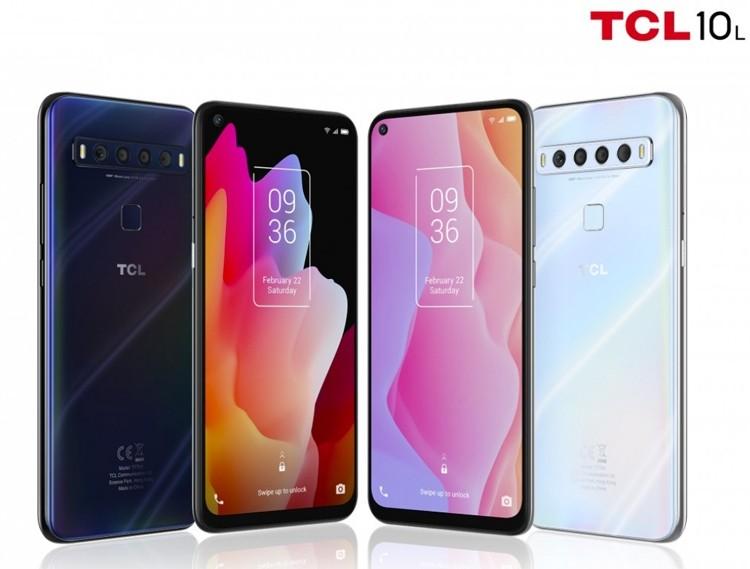 Трио смартфонов TCL с четверной камерой