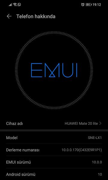 Android 10 для Huawei Mate 20 Lite — обновление в пути - 2