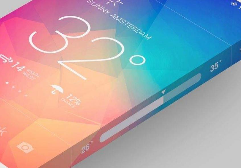 Apple изобрела iPhone с покрывающим все стороны экраном - 1