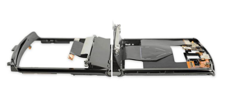 iFixit разобрали Motorola Razr 2019, чтобы оценить его ремонтопригодность