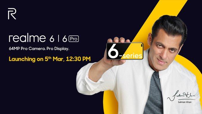 Объявлена дата презентации Realme 6 и Realme 6 Pro – фото 1