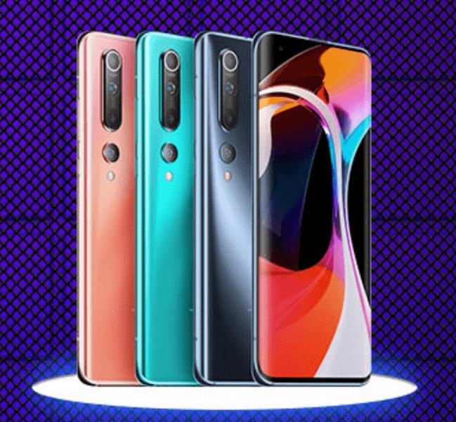 Официально: Xiaomi Mi 10 стоит на 400 долларов меньше, чем Samsung Galaxy S20