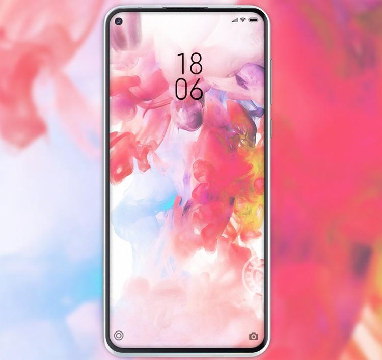 Рендеры смартфона Xiaomi Mi 10 Lite демонстрируют квадрокамеру в круглом блоке