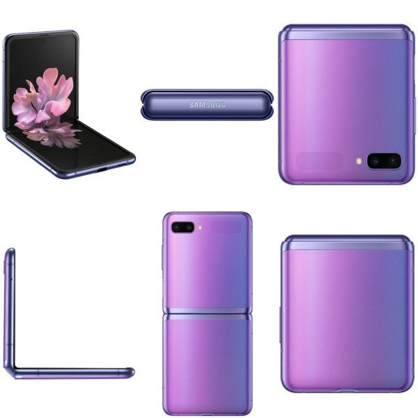 Samsung Galaxy Z Flip со всех сторон