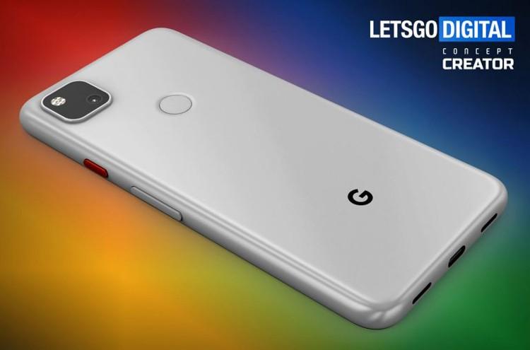 Смартфон Google Pixel 4A с «дырявым» экраном красуется на качественных рендерах