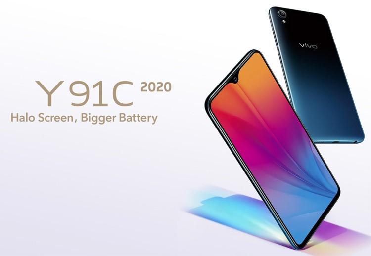 Смартфон Vivo Y91C 2020 оборудован 6,22