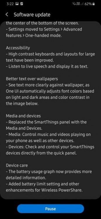 Смартфоны Samsung Galaxy A30 и A50S получили обновление Android 10 - 4