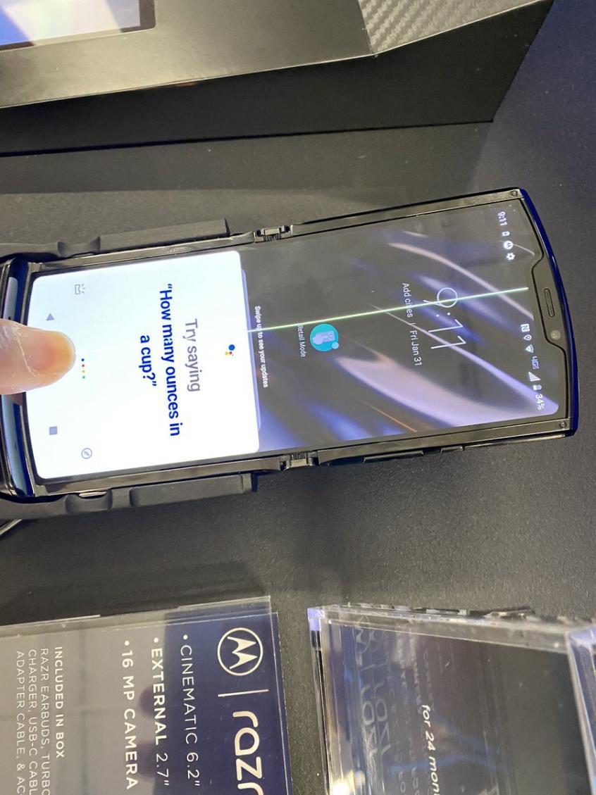 У гибкого Motorola Razr выявлены новые «фичи» – фото 2