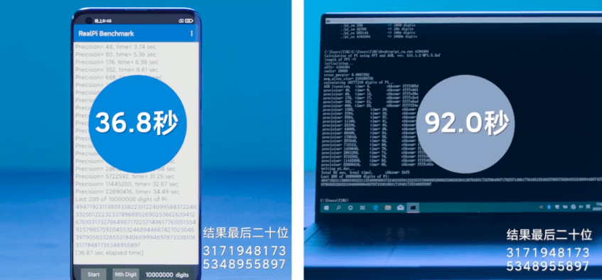 Xiaomi сравнила новый флагманский смартфон с ноутбуком на Core i7 по скорости работы - 1