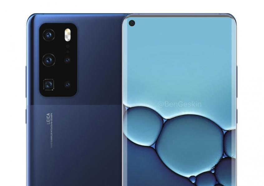 В сети появились качественные изображения весеннего фотофлагмана Huawei P40 Pro - 1