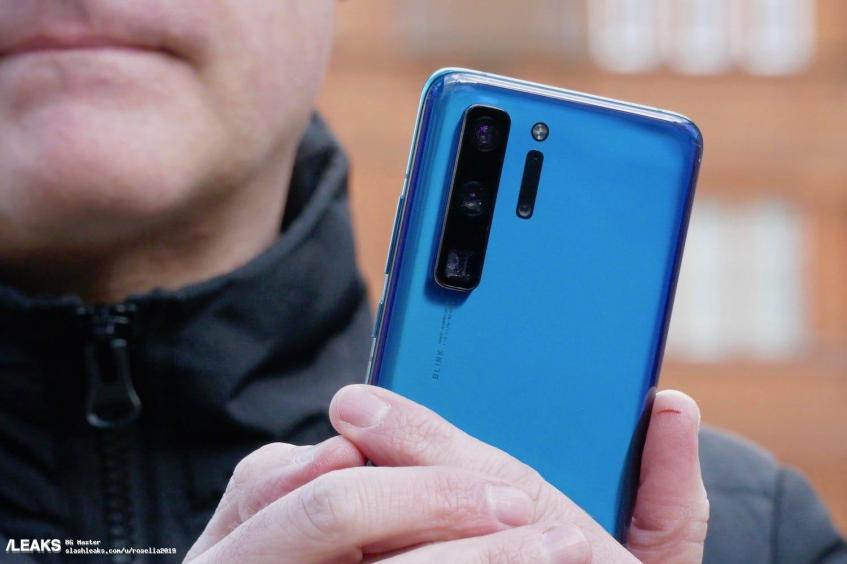 Вот так выглядит реальный Huawei P40 Pro