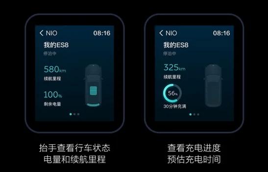 Часы Xiaomi Mi Watch теперь можно использовать для управления автомобилями Nio