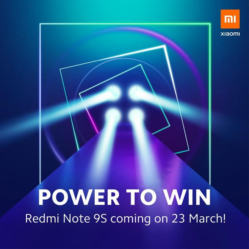 Готовится к анонсу Redmi Note 9S – фото 1