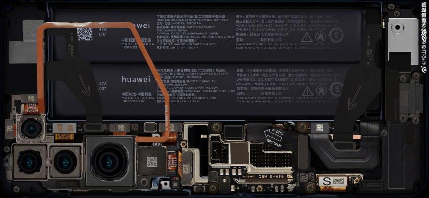 Первое фото внутренностей Huawei P40 демонстрирует удивительные факты