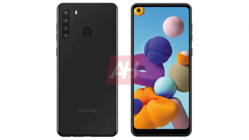 Показали дизайн Samsung Galaxy A21 – фото 1