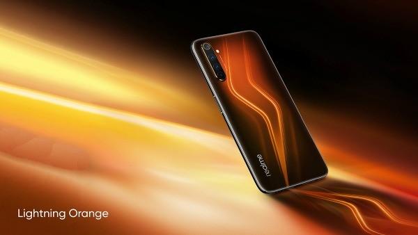 Realme 6 Pro в оранжевом корпусе