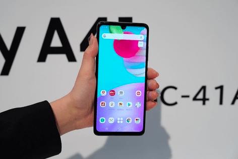 Samsung Galaxy A41 представили в Японии – фото 4