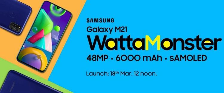 Смартфон Samsung Galaxy M21 получит экран Super AMOLED и 48-Мп камеру