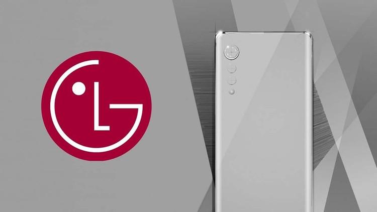 Смартфон LG Velvet 5G показан с фронтальной стороны