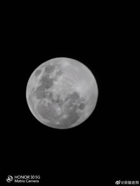 Даже младший флагман Honor сможет делать впечатляющие фотографии Луны